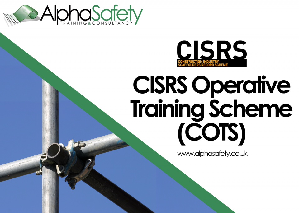 CISRS OPERATIVE TRAINING SCHEME